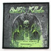 Overkill - 'White Devil Armory' Woven Patch